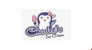 Product image for Charlee's Ice Cream $1 OFF any milkshake.