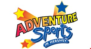 Product image for Adventure Sports in Hershey $30 Off any group event session for up to 10 guests