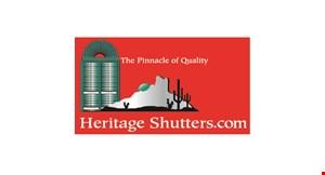 Heritage Shutters, Inc. logo