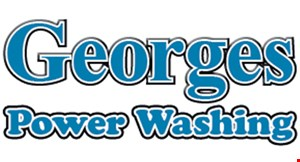 Georges Power Washing logo