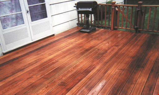 Product image for Jet Powerwashing $50 OFF Any Deck Wash & Sealing