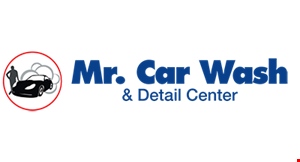 Product image for MR. CAR WASH & DETAIL CENTER $2 off Full-Service Or Any Other Wash Package, Any Time