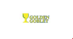 Product image for Golden Goblet Up to $5 off any purchase