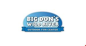 Big Don's Wild River Mini Golf logo