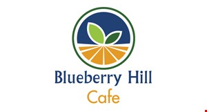 Product image for Blueberry Hill Cafe - Homer Glen $5 OFF any purchase of $25 or more or $3 OFF any purchase of $15 or more.