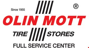 Product image for Olin Mott Tire Stores - Brandon $10 off thrust angle or 4-wheel alignment