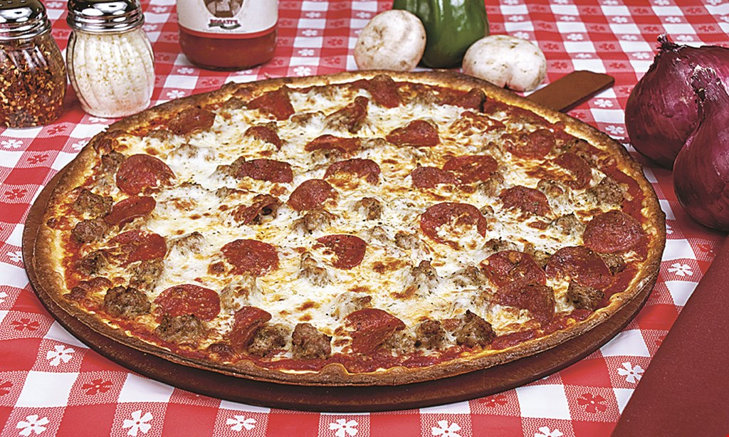 "Product image for Rosatis Authentic Chicago Pizza 4-3-2. $4 off Any 18"" Pizza, $3 off Any 16"" Pizza, $2 off Any 14"" Pizza"