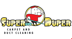 Super Duper Carpet and Duct Cleaning logo