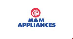 M&M Appliances logo