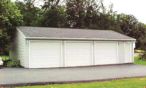 Product image for Reeve Garage Builders, Inc. $250 off any project of $2500 or more.