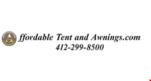Product image for Affordable Tent & Awnings $200 off any retractable awning purchase plus free installation.