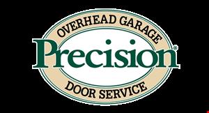 PRECISION OVERHEAD GARAGE DOOR SERVICE logo