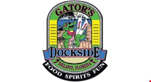 Gators Dockside logo