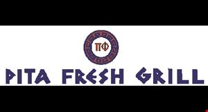 Pita Fresh Grill logo