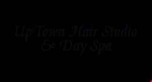 Uptown Hair Studio & Day Spa logo