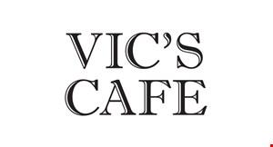 Vic's Cafe logo