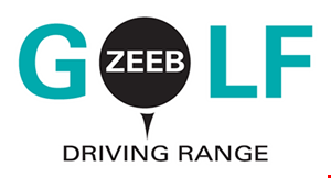 Product image for Zeeb Golf Driving Range $1.00offmedium bucket.