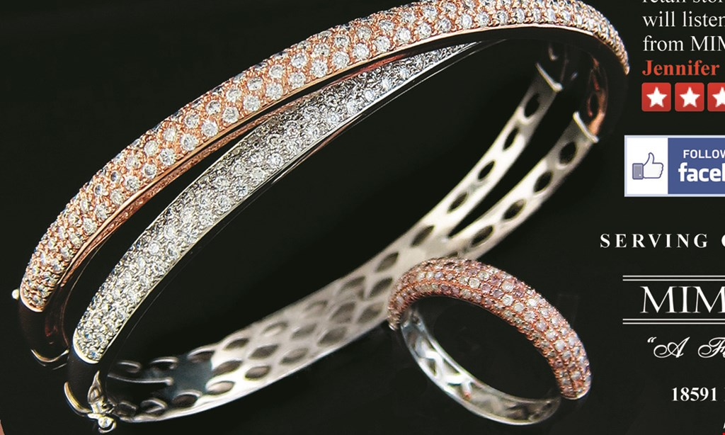 Product image for Mimi's Jewelry $200 off $1000.