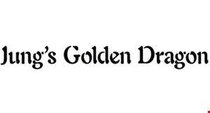 Jung's Golden Dragon logo