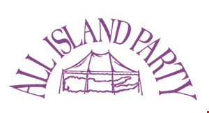 All Island Party Tent Rentals logo