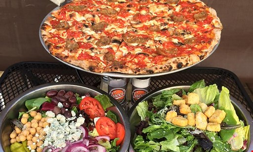 Product image for Tucci's Fire N Coal Pizza $5 Off your order of $35 or more.