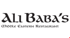 Product image for Ali Baba Middle Eastern Restaurant $5 off total bill