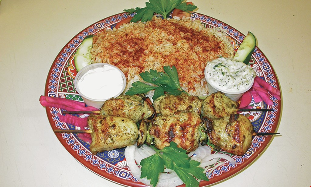 Product image for Ali Baba Middle Eastern Restaurant $5 off takeout order of $40 or more
