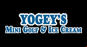 Yogey's Mini Golf & Ice Cream logo