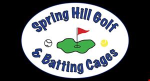 Spring Hill Golf & Batting Cages logo