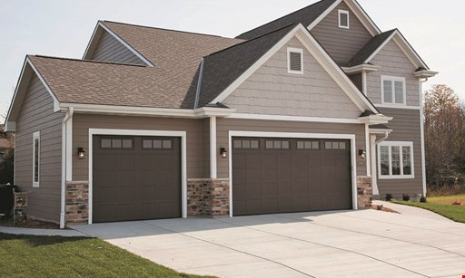 Product image for Senke CNY Garage Door FREE additional remote with purchase & installation of new garage door opener.