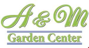 A&M Garden Center logo