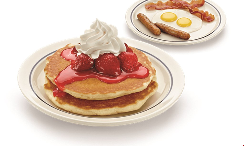 Product image for IHOP $5 Off any purchase of $25 or more