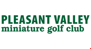 Pleasant Valley Miniature Golf logo