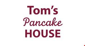 TOM'S PANCAKE HOUSE logo