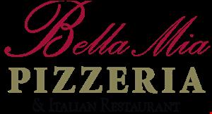 Bella Mia Pizzeria & Italian Restaurant logo