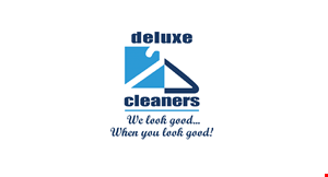 Deluxe/Dockside Cleaners logo