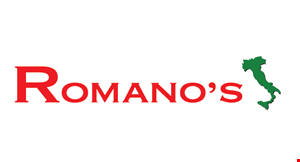 Product image for Romano's Italian Restaurant and Martini Bar OLD 11% OFF entire purchase