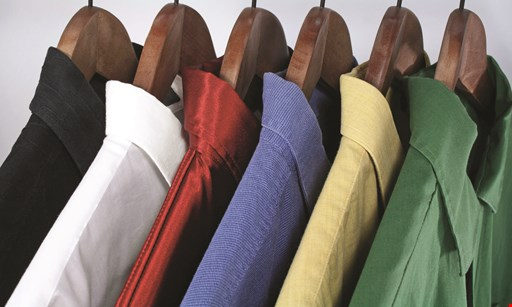 Product image for Crown Cleaners $5 off your first dry cleaning of $25 or more