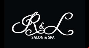 R & L Salon & Spa logo