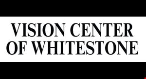 Vision Center Of Whitestone logo