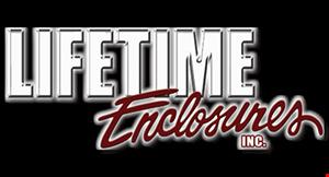 Lifetime Enclosures logo