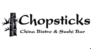 Product image for Chopsticks China Bistro & Sushi Bar $10 off any purchase