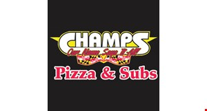 Champs Pizza & Subs logo
