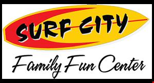 Surf City Family Fun Center logo