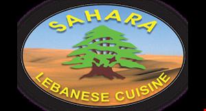 Sahara Lebanese Cuisine logo