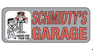Schmidty's Garage logo