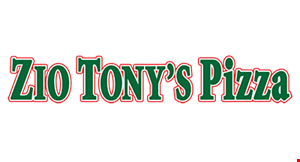 Zio Tony's Pizza logo