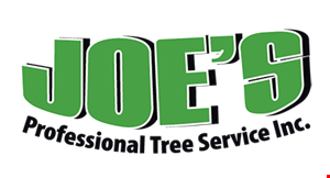 JOE'S PROFESSIONAL TREE SERVICE INC. logo
