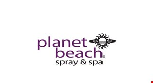Planet Beach Spray & Spa logo