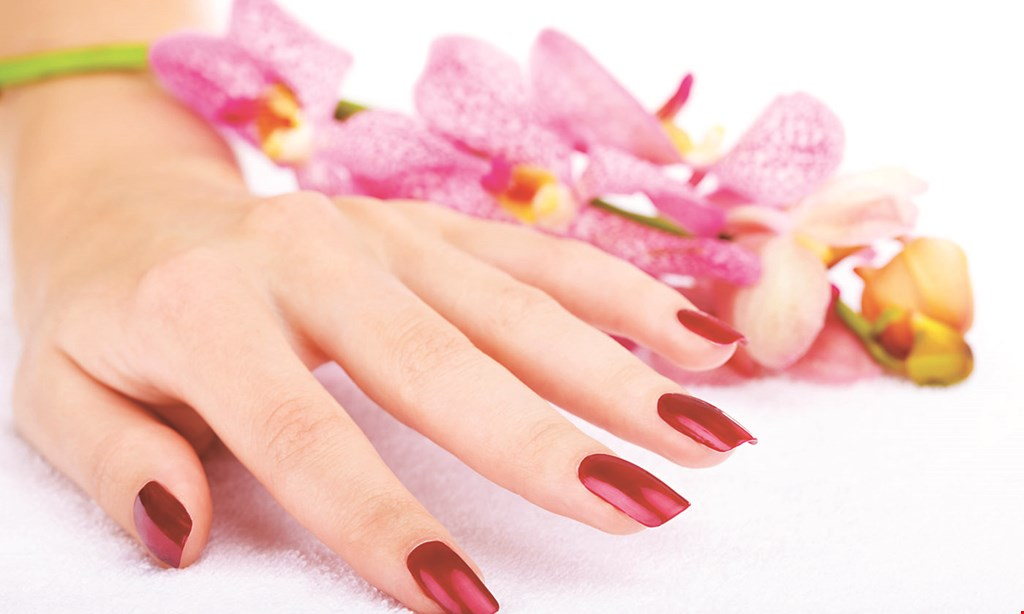 Product image for Natural Nails and Spa $34 manicure & pedicure combo